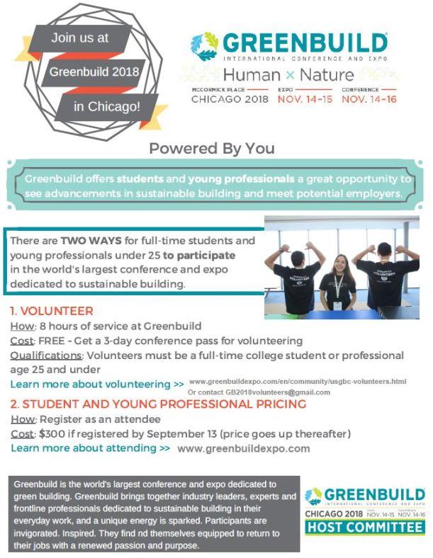 Greenbuild-volunteers